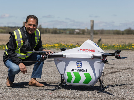 CPR | Drone-delivered AEDs fly a step closer to saving lives