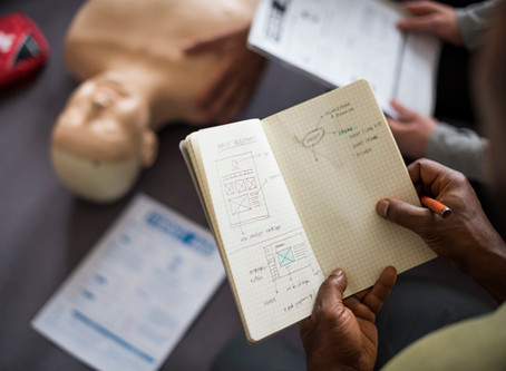 First Aid classes | School nurse and staff perform CPR and use AED to save co-worker's life