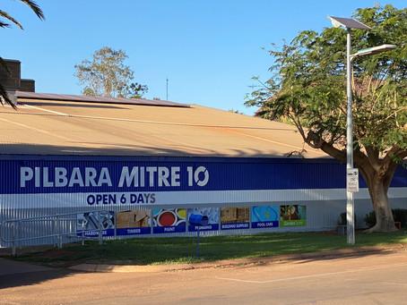Pilbara Mitre10 Rebrand
