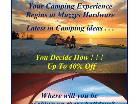 2019 Easter Camping Sale