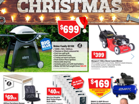 November Sale Now On & Pilbara Mitre10