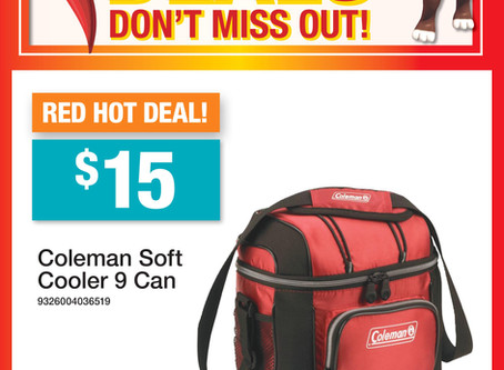 RED HOT DEAL - 1 WEEK ONLY