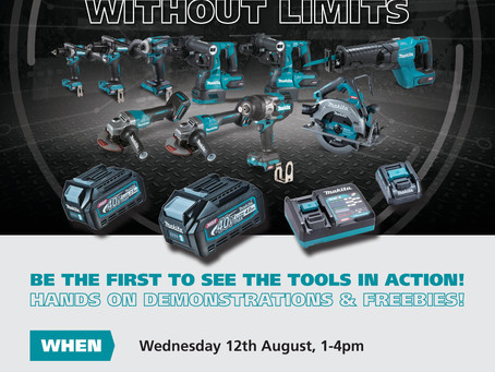 New Makita 40V Tool Demo @ Muzzys Hardware
