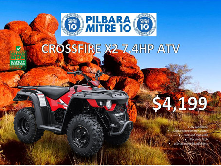 Crossfire X2 ATV Now Available!!