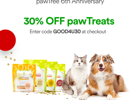 Final Flash Sale! 30% off pawTreats!