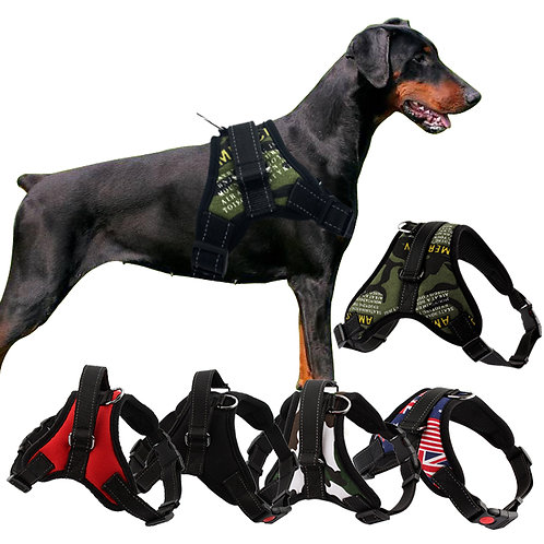 Durable Reflective Pet Dog Harness