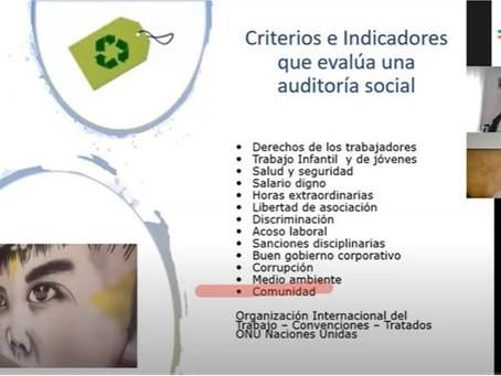 Auditorías sociales en el Diplomado RSE de la Universidad de San Juan