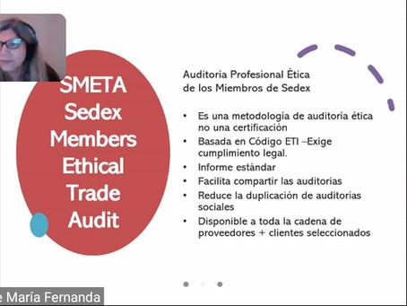 Webinar sobre Implementación SMETA/SEDEX
