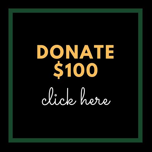 $100 Donation to AATF