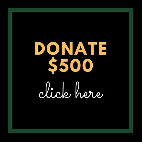$500 Donation to AATF