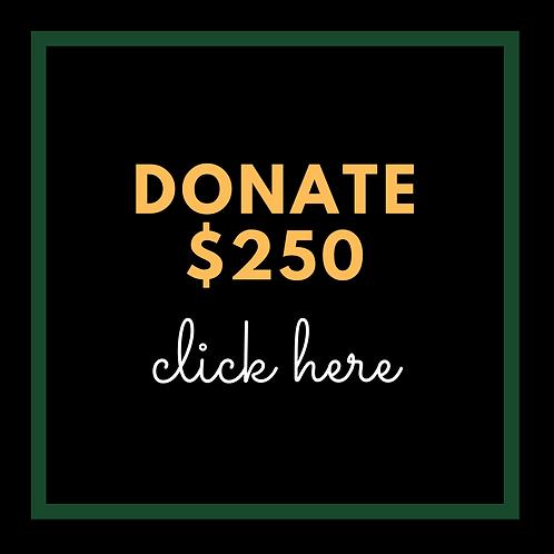 $250 Donation to AATF