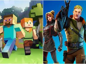 Minecraft VS Fortnight