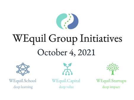 WEquil Initiatives - Oct 4, 2021