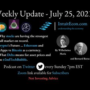 Weekly Update - 7/25/2021