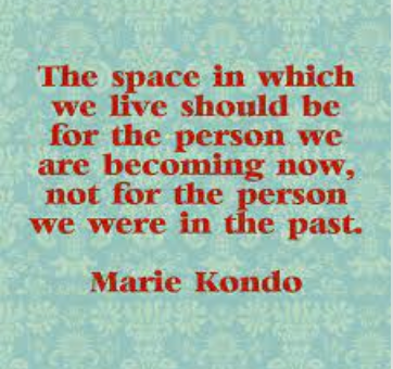 The Art of Decluttering and Organizing by Marie Kondo