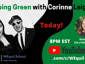 Going Green with Corinne Leigh