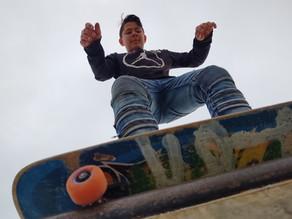 Skateboarding on a Random Afternoon