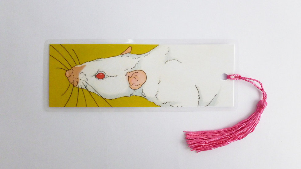 Siamese Fancy Rat Bookmark