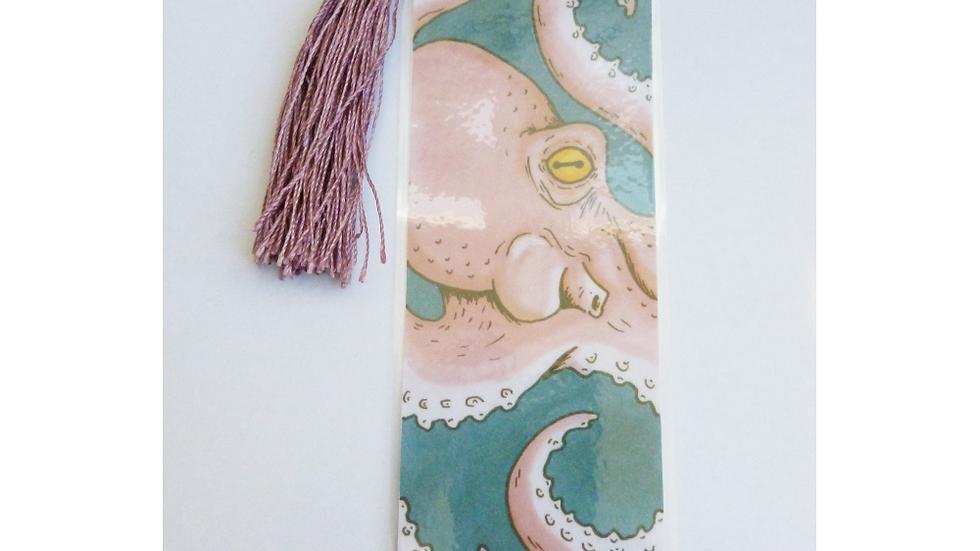 Octopus Bookmark