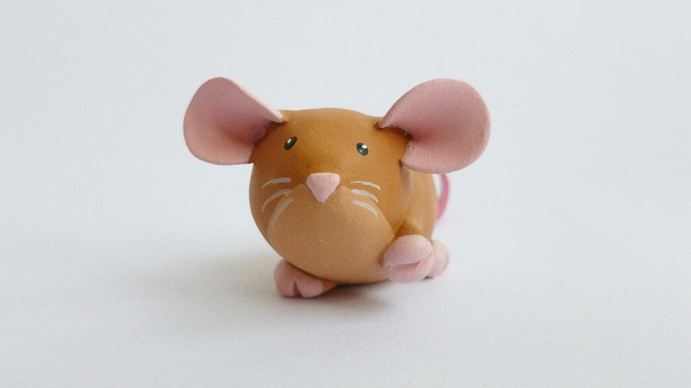 Orangey Brown Dumbo Dumpy Rat