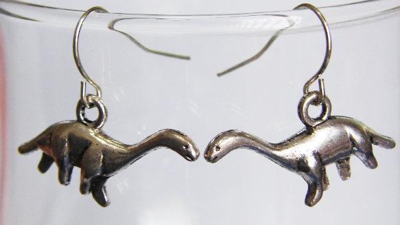 Dinosaur Sauropod Earrings