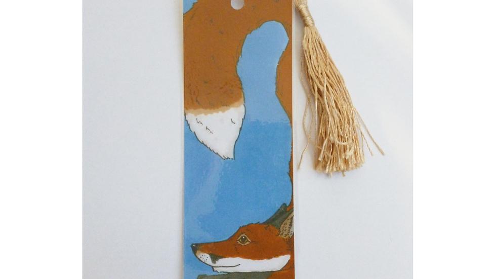 Red Fox Bookmark