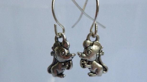 Tiny Mice Earrings