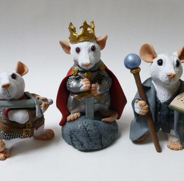 Fantasy Rat Ornaments