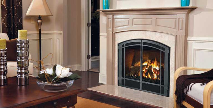 Zero Clearnace Gas Fireplace