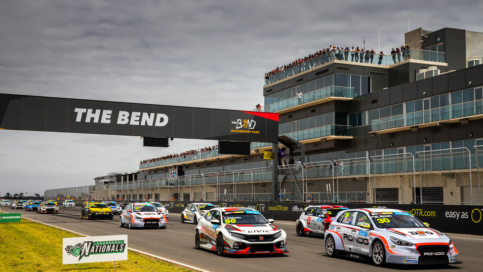 Huge double header round to highlight The Bend Motorsport Park