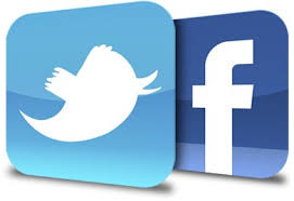 Facebook and Twitter ready for us!