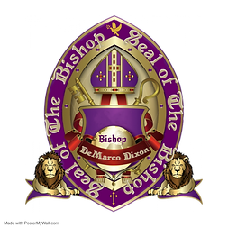 Copy of Bishop Seal Purple  Gold No Leav