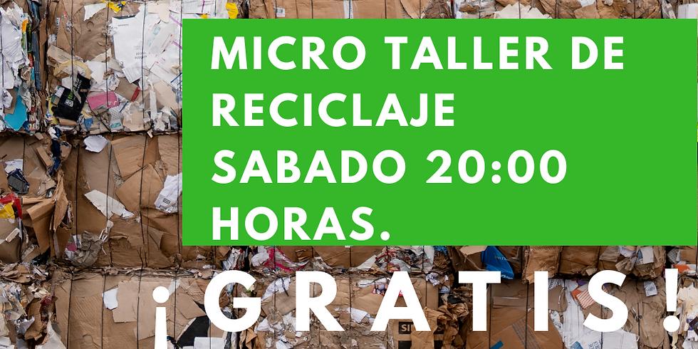 Micro Taller de Reciclaje