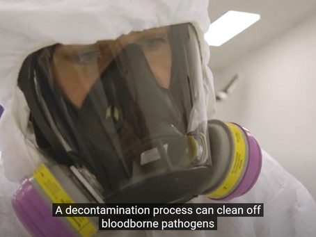 Decontamination of Electronic Devices – narcotics, bloodborne pathogens, and viruses