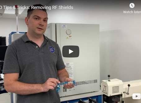 VTO Tips & Tricks: Removing RF shields