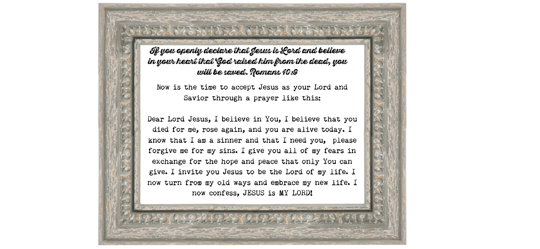 Copy of Now is the time to accept Jesus