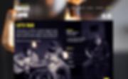 Band Website Design