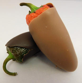 Hand dipped Jalepenos