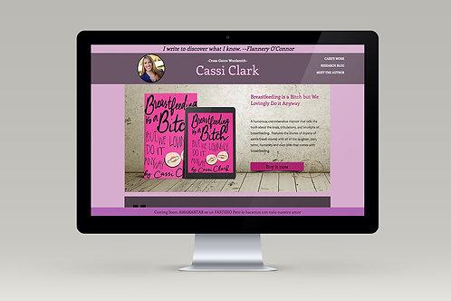 Author Website 50% Deposit