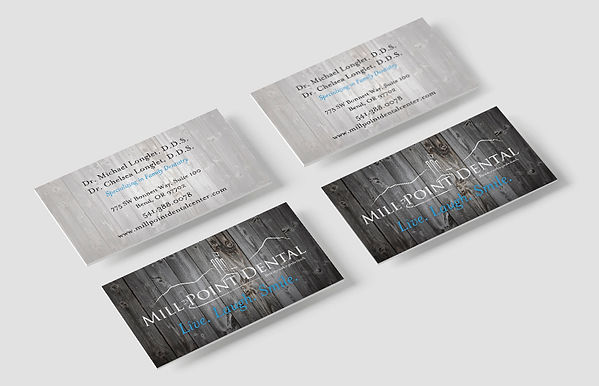 Business Card Design - Mill Point Dental