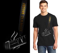 Oregon Jamboree t-shirt design