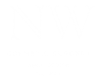 NW Cosmetic Surgery logo white transpare