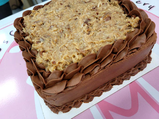German Chocolate Cake from Maggies Candy Kitchen and Bakery