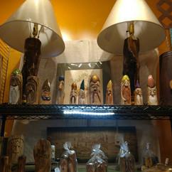 Carved Figurines - a Borgata