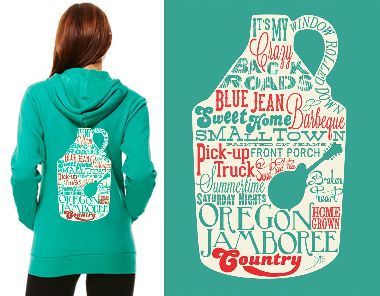 Oregon Jamboree hoodie design
