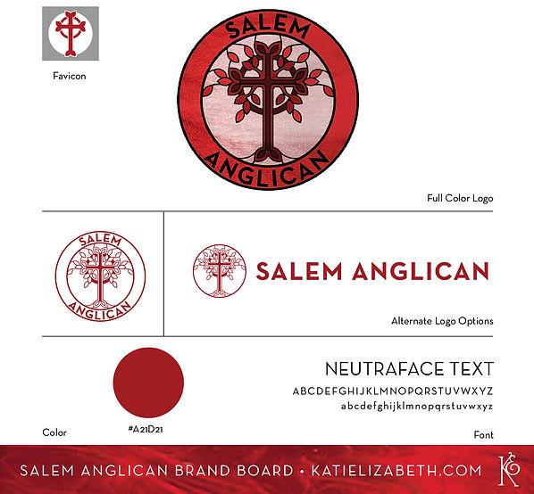 Salem Anglican Brand Board