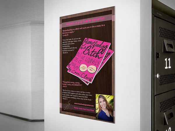 Book promotional poster design