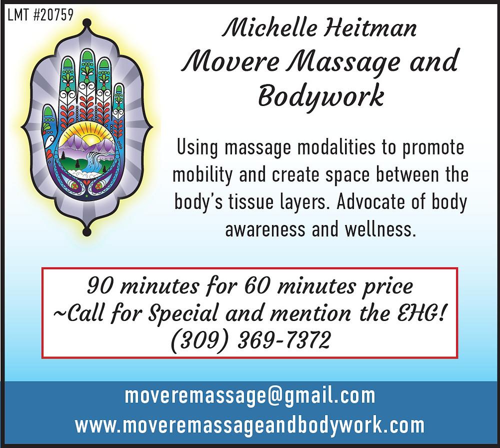 Movere Massage Wellness Coupon