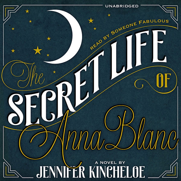 The Secret Life of Anna Blanc unused audio cover design