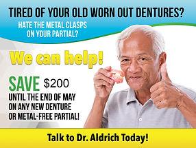 may denture waiting room poster draft 20